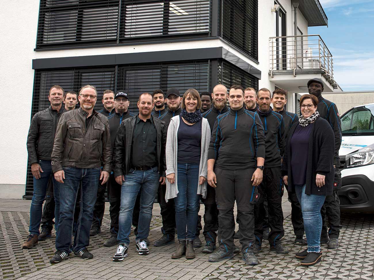 Das Team von G+S